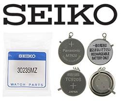Seiko Capacitor Battery