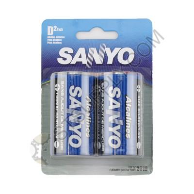 Sanyo D Alkaline Battery