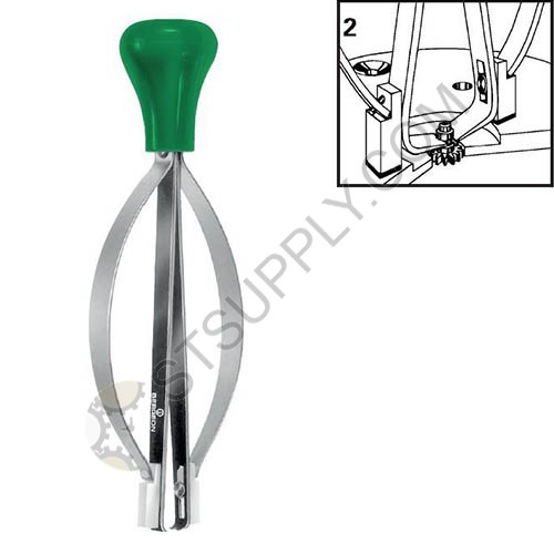 Bergeon Presto #2 Watch Cannon Pinion And Hand Remover Tool
