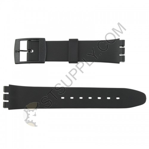 12mm Black Sportstrap Swatch
