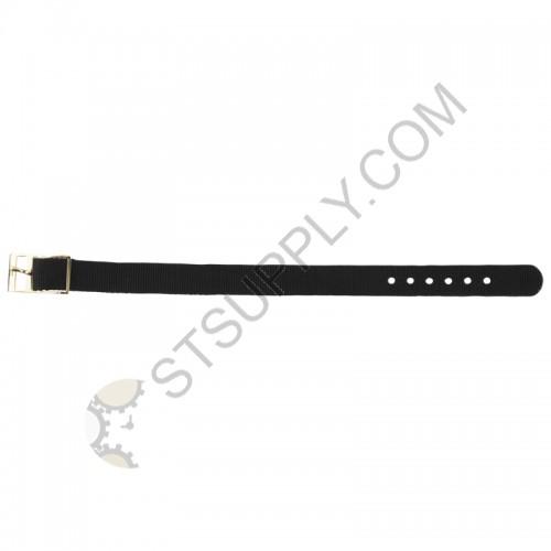 12mm Black Nylon Strap