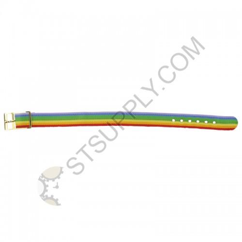 12mm Multi Color Nylon Strap