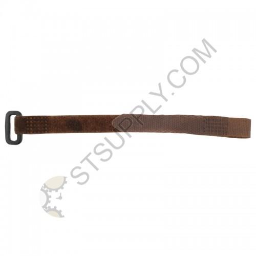 12mm Brown Velcro Strap w/ Buckle