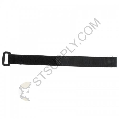 12mm Black Velcro Strap w/ Buckle