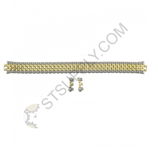 12mm Stretch Band 2-Tone Curved End 643T