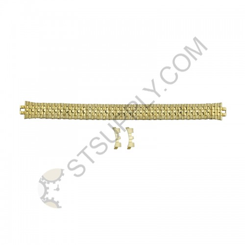 12mm Stretch Band Yellow Curved End 643Y