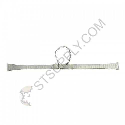 12mm Stainless Steel Straight Ends Seiko Type 745W