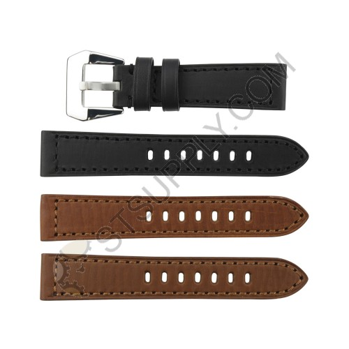 Enzo Bands: Padded Enzo Calf Genuine Leather Band