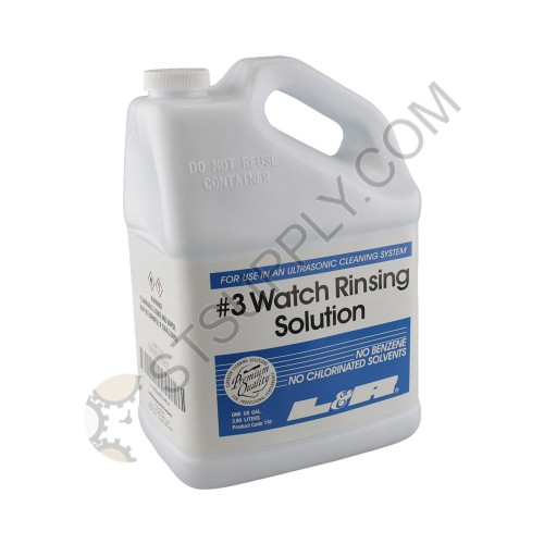 L&R #3 Watch Rinsing Solution - 1 Gallon