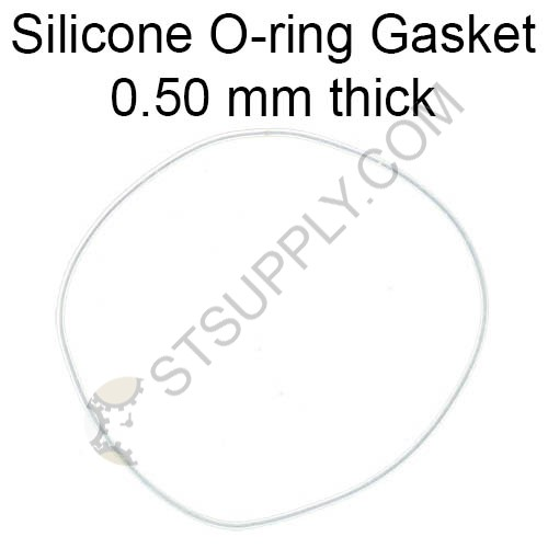 Silicone O-ring Gasket 0.50 mm Assortment (155 pcs)