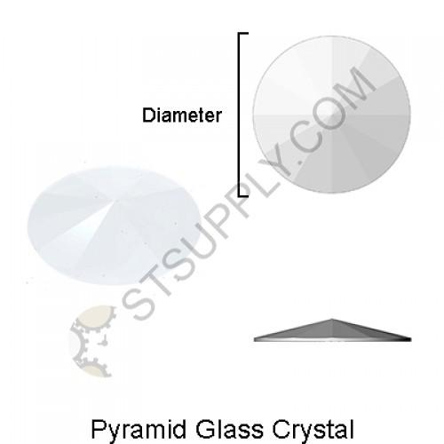 Pyramid Glass Crystal