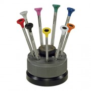 Bergeon 30081-S09 Ergonomic Screwdriver Set of 9