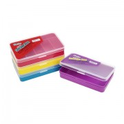 "6 COMPARTMENTS 5.5""x3.5"" PLASTIC ASSORTMENT BOX"