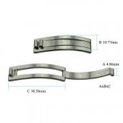 Single Arm Clasp 4.86 x 10.77 x 38.58 mm HC134