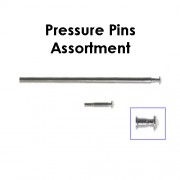 1.5 MM Pressure Pins Assortment (Sizes: 12 - 28mm) Total 90 pcs.