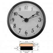 "2-3/4"" Clock Inserts"
