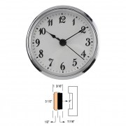 "3-1/2"" Clock Inserts"
