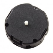 Mini Round Quartz Push-On Movement