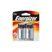 Energizer C Alkaline Battery (2-pack)