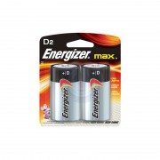 Energizer D Alkaline Battery (2-pack)