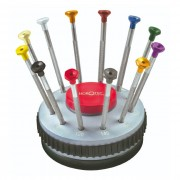 Horotec Set of 12 Watchmaker Screwdrivers 01.201-C