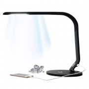 GemOro Horizon LED Natural Daylight Lamp Black