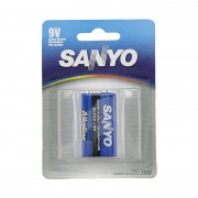 Sanyo 9V Alkaline Battery