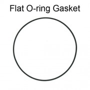 Flat O-ring Gaskets Assortment (25 pcs)