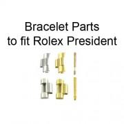 Bracelet Parts to fit Rolex Ladies' and Men's President