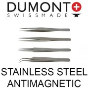 Dumont Dumoxel Antimagnetic Tweezers