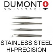 Dumont Stainless Steel Hi-Precision Tweezers
