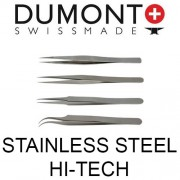 Dumont Stainless Steel Hi-Tech Tweezers