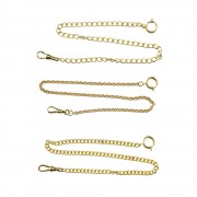 Yellow Pocket Watch Chains 12 inch