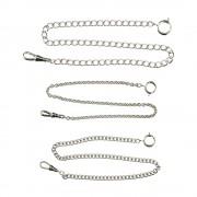 White Pocket White Chains 12 inch