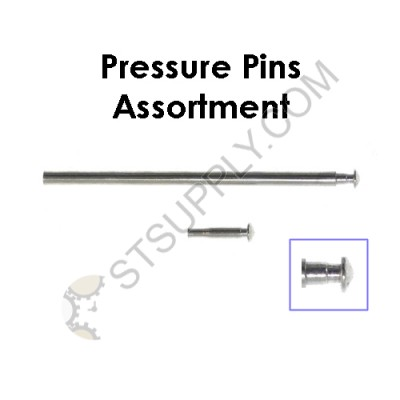 1.2 MM Pressure Pins Assortment (Sizes: 10 - 20mm) Total 110 pcs