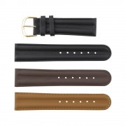 Double Padded Calf Genuine Leather Band
