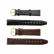 Slimline Snake Genuine Leather Band