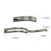 Single Arm Clasp 2.9 x 7.87 x 34.8 mm HC135