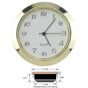 "1-7/16"" Clock Inserts"