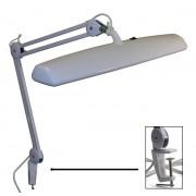 Three Bulb Bench Lamp Clamp-on 110 V