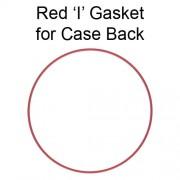 Red 'I' Gasket for Case Back